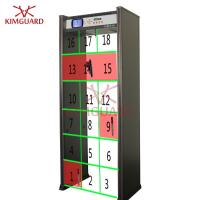 Buy cheap 18 Zone Walk In Event Security Guard Metal Detector Scanner Location Lights Included from wholesalers