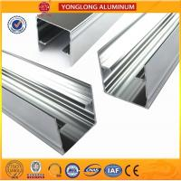 Buy cheap Mechanically Polished Aluminum Profiles High Surface Brightness Black from wholesalers