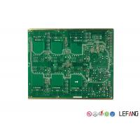 Buy cheap Immersion Gold Multilayer PCB Board For Vehicle Green Solder Mask OEM / ODM from wholesalers