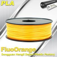 Buy cheap 1.75mm PLA   Fluorescent  Filament  3D Print Material Stiffness High product