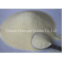 Buy cheap Sweet Coating Unflavoured Gelatin Powder 120 - 150 Bloom By Film Forming product