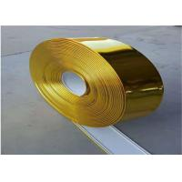 China Channel Letters Polished Aluminum Strips , Aluminum Metal Strips Color Painted on sale