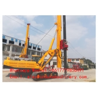 Buy cheap BEST PRICE MULTIFUNCTION CRAWLER TYPE AUGER DRILLING RIG MACHINE FOR SALE from wholesalers