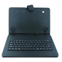 Buy cheap Black Color 9 - 10 Inch Tablet Bluetooth Keyboard Case With PU Leather Cover product