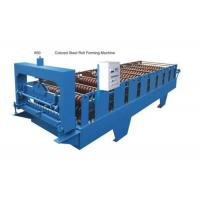 Buy cheap Automatic Tile Sheet Metal Roller MachineWith Coil Sheet Guiding Device from wholesalers