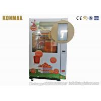 China Intelligent Automated Fresh Fruit Juice Vending Machine Payment By Banknote And Coin on sale