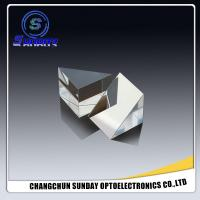 Buy cheap 0.5mm-300mm Right Angle Prism Optical Prism Bk7k9 Sapphire Fused Silica ZnSe CaF2 Si Ge  Coated AR, HR, Al, Silver, Gold from wholesalers