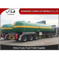 Buy cheap Fudeng 3 Axles Max 25Tons / 60m3 / 60000Liters Lpg Propane Tanker  , LPG Transport Trailer from wholesalers