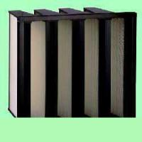 China V-series density pleated air filter on sale