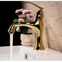 Buy cheap Modern single lever polished brass bathroom faucet bath taps from wholesalers