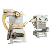 Buy cheap Automatic Nc Coil Feeder Straightener And Decoiler 3 In 1 Machine With Hydraulic Care from wholesalers