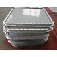 Buy cheap Marine Aluminum Alloy Wheelhouse Window Weathertight Bolted Installation Type from wholesalers