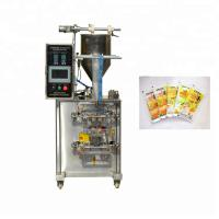 Buy cheap Computer Control Sauce Paste Bottle Filling Machine With Piston Pump 30-80 sachets/min from wholesalers