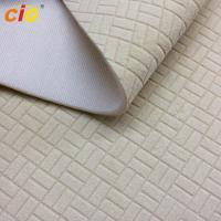 Buy cheap Super Soft Burnout Automotive Upholstery Fabric For Car Seat / Bus Seat Multicolor product