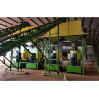 Buy cheap Beech Wood Sawdust Complete Line Wood Pellet Making Machine With 3T/H Capacity from wholesalers