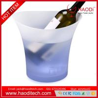 Buy cheap LED Lighted Ice Bucket Color Changing Drinking Wine Champagne KTV Buckets from wholesalers