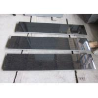 Buy cheap G684 Granite Outdoor Natural Stone Tile / Black Basalt Tile For Building Project from wholesalers