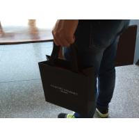 Buy cheap Grey Clothes Paper Bags With Handles , Paper Carrier Bags Environmental Protection from wholesalers