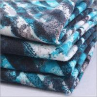 Buy cheap Rusha Textile   Poly Spun Single Jersey Printed Casual Sportswear Sweat Pants Fabric from wholesalers