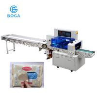 Buy cheap Stainless Steel 304 Flow Packaging Machine with 3 Side Seal Garbage Bags Packing 450XD from wholesalers