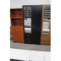 Buy cheap Foldable Doors Marine Plywood Wardrobe / Open - Shelves Wooden Cloth Cabinet from wholesalers