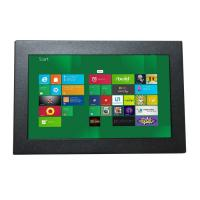 """7"""" industrial chassis LCD touchscreen monitor displays with VGA,DVI, HDMI input for industrial control"""