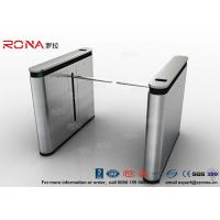 Quality Fingerprint Drop Arm Turnstile Road Access Control Electronic Barrier Gates With CE approved for sale