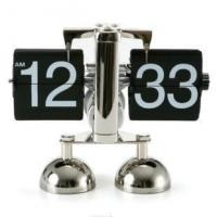Buy cheap best price flip over clock libra flip clock ,metal table clock from wholesalers