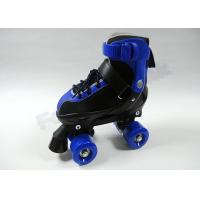 Buy cheap Custom Adult / Toddler / Youth Quad Roller Hockey Skates with Semi-soft  PP + PE Shell from wholesalers