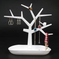 Buy cheap Plastic Bird Tree Jewelry Display Bracelet Ring Necklace Earring Stand Rack Jewellery Holder from wholesalers