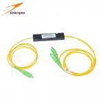 Buy cheap Catv Filters 1490nm 1550nm SMF FWDM Fiber Optical Splitter from wholesalers