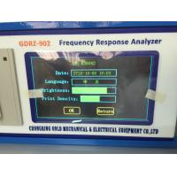 Buy cheap GDRZ-902 High Quality FRA Transformer Winding Deformation Tester from wholesalers