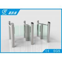 Buy cheap Reliable speed gate turnstile with switched by external button or remote control functions from wholesalers