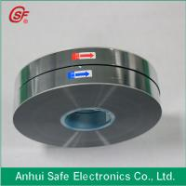 Quality 3~12um Al Zn alloy metallized polypropylene film for sale