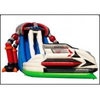 Buy cheap Kids Inflatable Cartoon Bounce House Jumper Bouncer Jump Bouncy Castle with Slide from wholesalers
