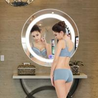 Buy cheap Bathroom LED Strip Mirror For Hotel Touch Switch Oval Wall Mirror from wholesalers