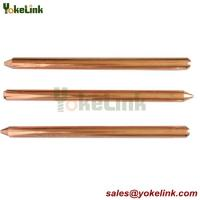 Buy cheap Underground System copper bonded Lightning rod round Ground Rod from wholesalers