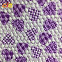 Buy cheap 65% PVC + 35% Polyester Synthetic Leather Material For Auto Car Seat Cover product
