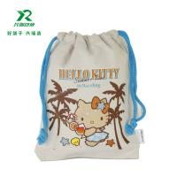 Buy cheap Factory wholesale product cheap price cotton small drawstring bags High Quality Customized Cotton Muslin Drawstring Bag from wholesalers