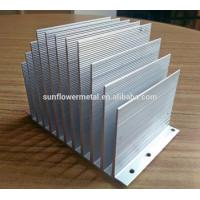 Buy cheap Led heat sink aluminum base plate, extruded aluminum heat sink manufacturer in china from wholesalers