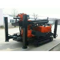 Buy cheap 180m Depth Crawler Mounted Water Well Geological Drilling Rig Flexible for Industry Drilling from wholesalers