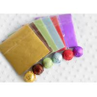 Buy cheap Aluminum Alloy Foil Wrapping Paper For Chocolate And Candy Wrapping Colorful from wholesalers