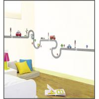 Buy cheap Eco-friendly Waterproof non-woven Fabric cars wall stickers Kids room from wholesalers