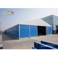 Buy cheap 20x50m 1000 sqm Industrial Storage Tents With Sandwich Hard Wall Roller Shutter from wholesalers