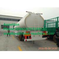 Buy cheap CIMC Oil tanker semi trailer 2 / 3 FUWA axles carbon steel / stainless steel 40 to 60 cbm with PIPE AND PUMP from wholesalers