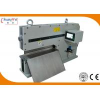 Buy cheap Two Sharp Linear Blades PCB Depaneling Machine For Aluminium Substrate from wholesalers