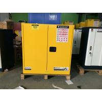 Buy cheap 30 Gallon Chemical Safety Storage Cabinets For Flammable Liquids / Combustibles from wholesalers