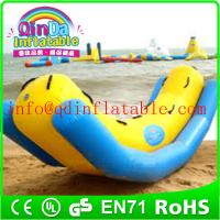 Buy cheap Inflatable commercial water park inflatable totter for water sports water totter for kids from wholesalers