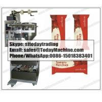 Buy cheap Factory pricer liquid /Paste / honey /ketchup /Juice pouch filling sealing packing machine from wholesalers
