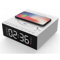 Buy cheap DIY 4.2 Creative Bluetooth Speakers With Mobile Phone Wireless Charger / Alarm Clock from wholesalers